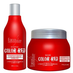 Forever-Liss-Color-Red-Kit-Duo-Cabelos-Vermelhos
