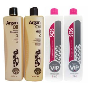 Kit-Vip-Argan---New-Vip-Reconstrucao-Capilar-Kit-Duo---2-x-1L