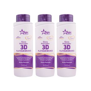 Magic-Color-Desamarelador---Gloss-3D-Platinum-Branco---3x500ml