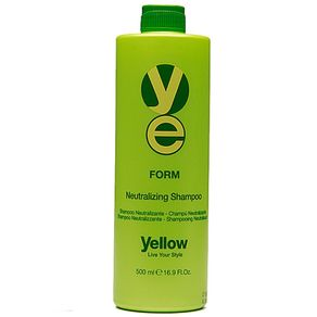 Yellow Form Shampoo Neutralizante 500ml